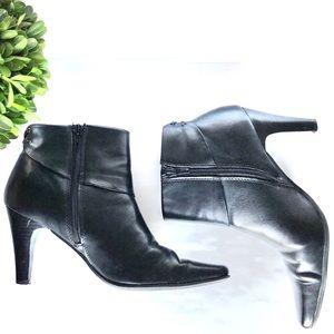 Croft & Barrow black Tracy booties boots Sz 8